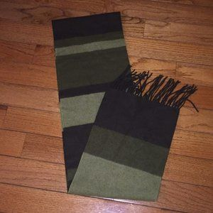 Burberry wool cashmere blend unisex scarf